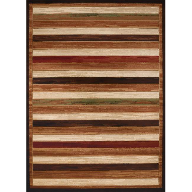 United Weavers 710 00450 912 7 ft. 10 in. x 10 ft. 6 in. Studio Painted Deck Oversize Rug, Brown - image 1 of 1