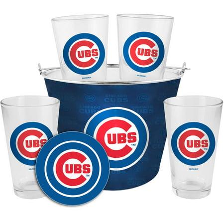 Boelter Brands MLB Gift Bucket Set, Chicago Cubs by