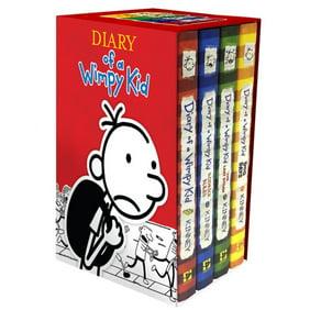 Diary of a wimpy kid box of books 5 8 walmart solutioingenieria Choice Image
