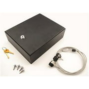Bestop 42644-01 Universal Lock Box, Security Cable, Key Lock Lock Box for Truck Center Console/Universal