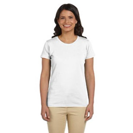 econscious Ladies' 4.4 oz., 100% Organic Cotton Classic Short-Sleeve (Black Organic Cotton Tee)