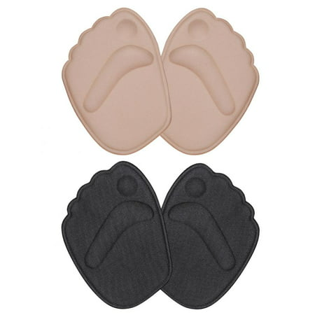 Yosoo 2 Pairs Ball of Foot Cushions Metatarsal Pads for Women | Forefoot Women's Sole Inserts, Foot Pads for Ball of Feet Gel Insoles for High Heel Shoes, Pad for