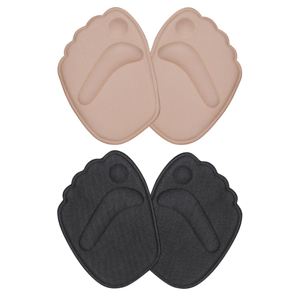 Dilwe 2Pair Gel Cushion High Heel Shoes inserts insole Ball Foot Arch Care Support Pads,Gel Cushion High Heel Shoes inserts, insole Ball Foot Arch Care Support Pad