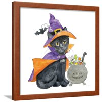 Halloween Pets I Framed Print Wall Art