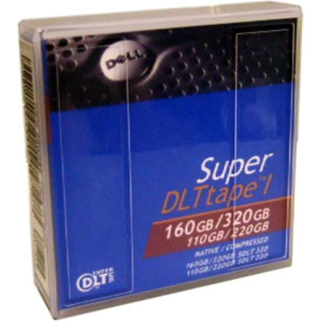 DELL 09W085 Super DLT-1 160-320GB Data Tape Cartridge