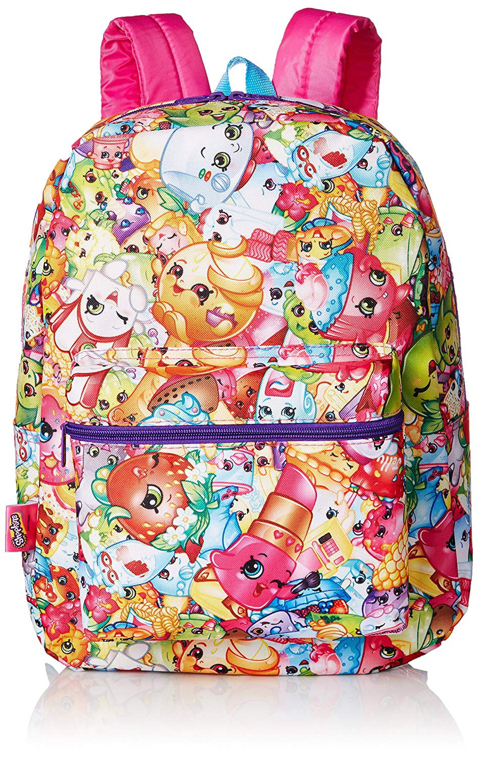 Shopkins Girls Backpack Headphones and Coin Purse Gift Set AE29976SC