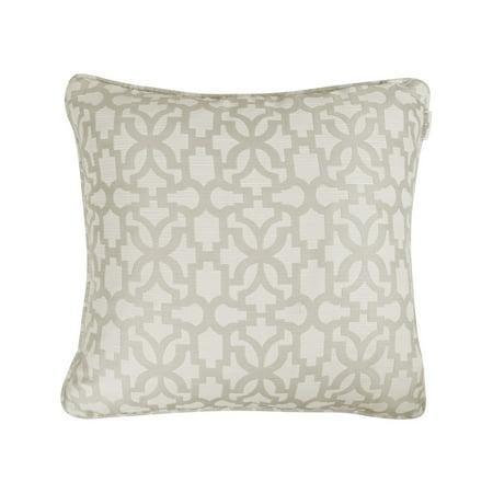 Paga Universal Linens Inc. Lauren Taylor  - Alena Jacquard Cushion Natural