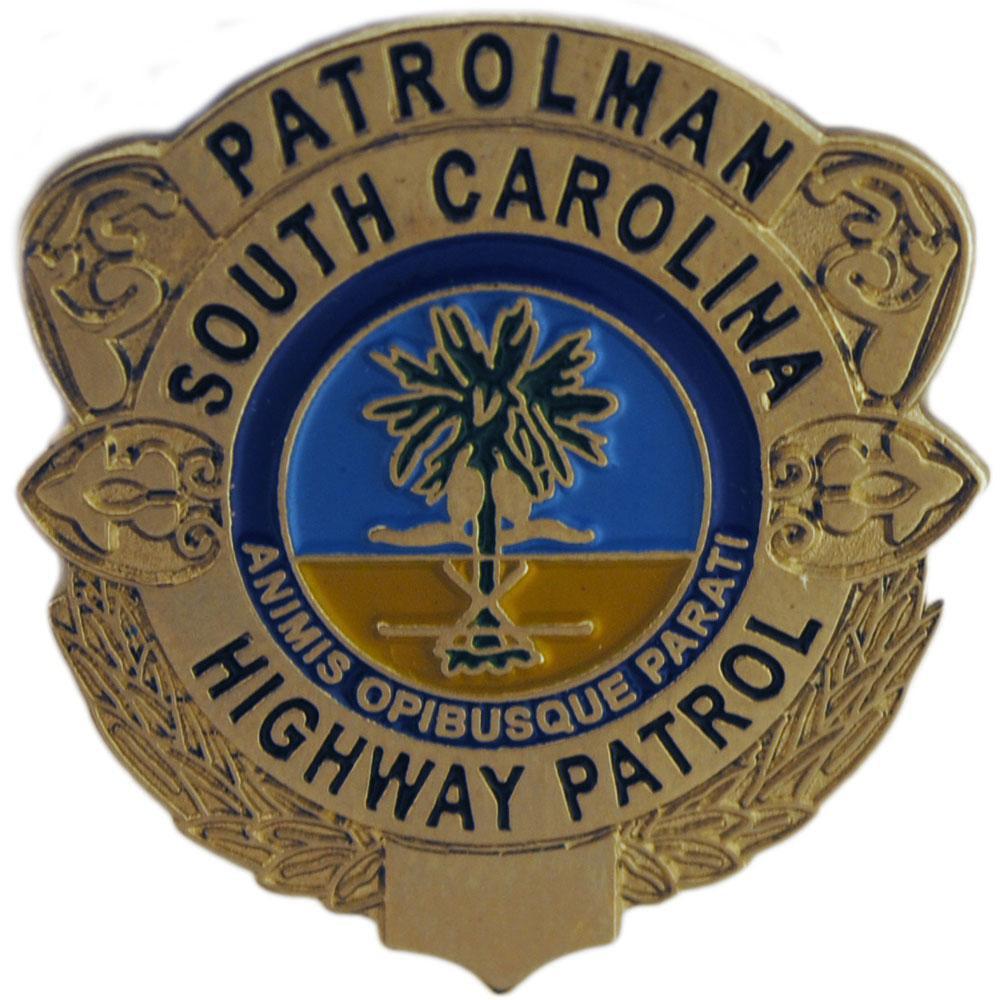 South Carolina Highway Patrol Badge Pin 1