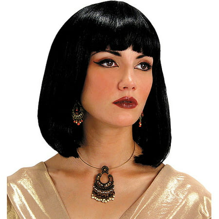 Egyptian Wig Adult Halloween Accessory - Kate Middleton Halloween Wig