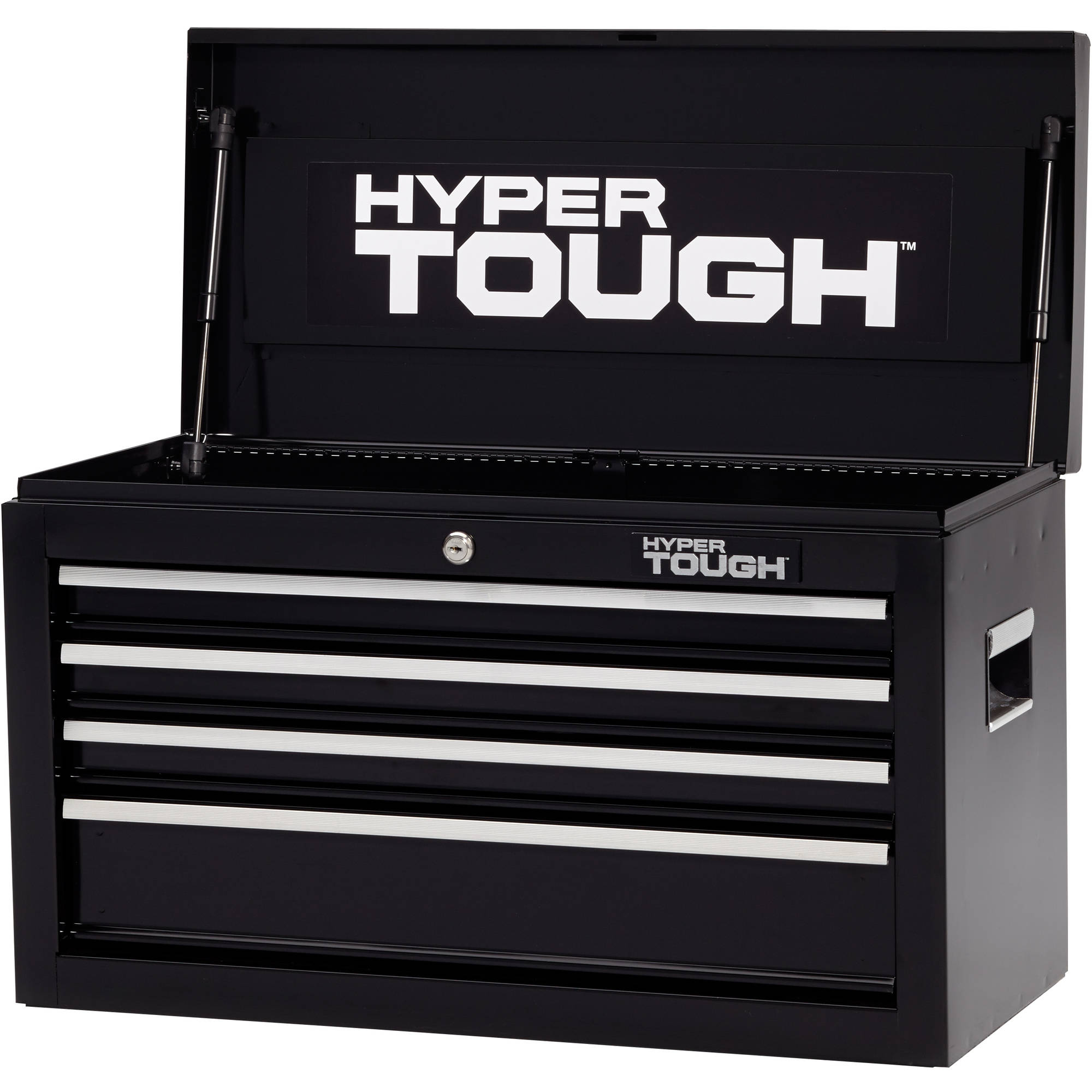 "Hyper Tough 4-Drawer Tool Chest with Ball-Bearing Slides, 26""W"