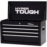"""Hyper Tough 4-Drawer Tool Chest with Ball-Bearing Slides, 26""""W"""