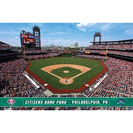 Philadelphia Phillies   Citizens Bank Park 14 Poster 34 X 22In