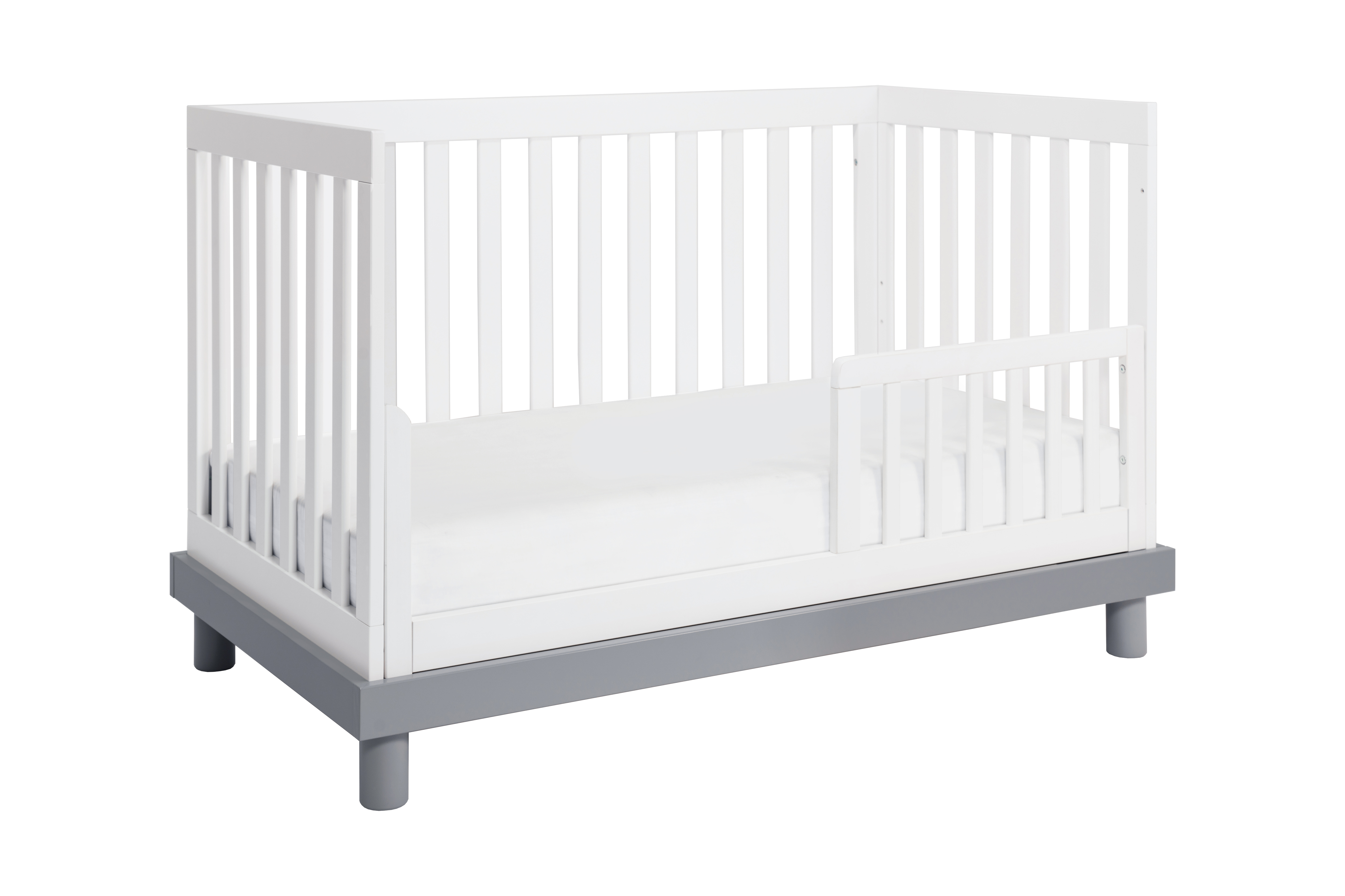 Baby Mod Olivia 3-in-1 Convertible Crib in Amber/White ...