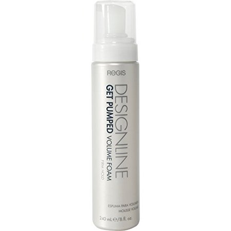 Hair Volumizing Leave (Get Pumped Volume Foam, 8 oz - DESIGNLINE - Lightweight Volumizing Mousse Foam for All Hair Types )