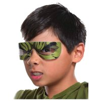 Childs Boys Girls The Hulk Marvel Eye-Mask Costume Accessory