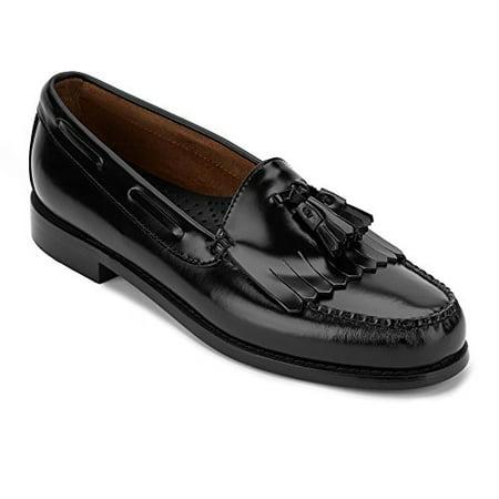 Bass G.H Co. Men's Layton Kiltie Tassel Loafer,Black,10 D (Breland Kiltie Tassel)