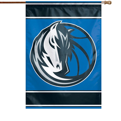 "Dallas Mavericks WinCraft 28"" x 40"" Two-Sided Vertical Flag - No Size"