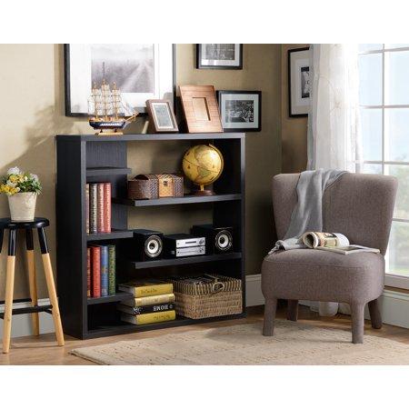 Homestar 6-Shelf Storage Bookcase in Multiple Finish