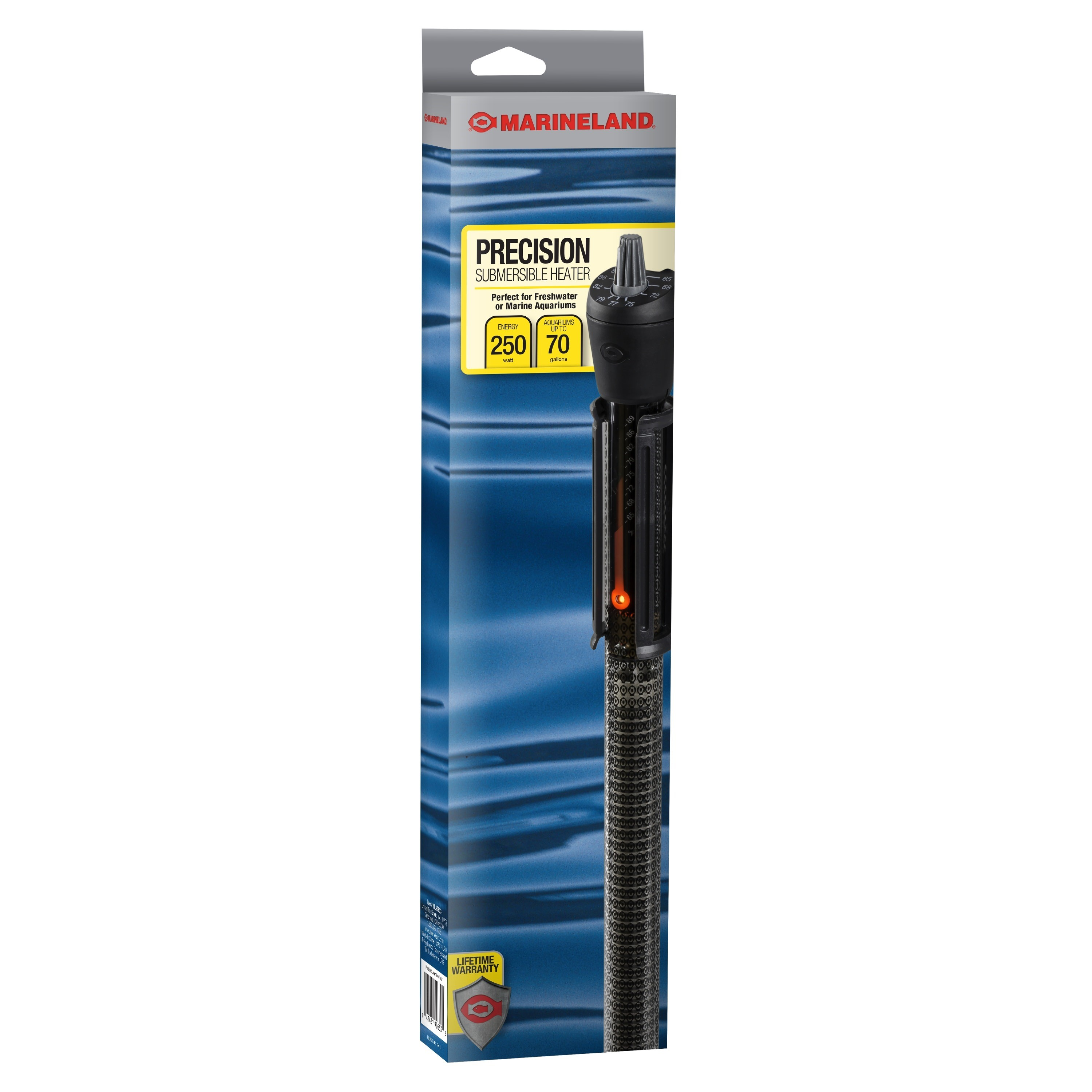 Marineland Precision Aquarium Heater, Up to 55 Gallons, 200-Watt