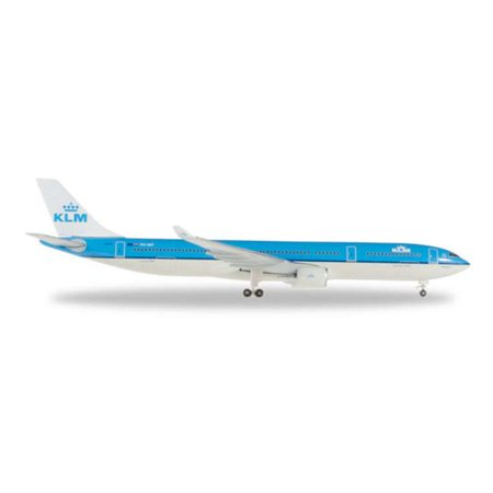 Airbus A330 Jet (Herpa Wings 527903 KLM Airbus A330-300 '95 Years' 1/500 Scale Diecast Model )