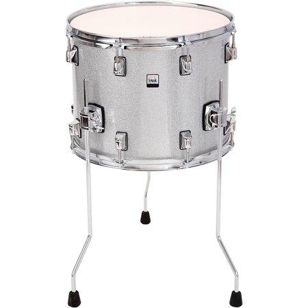 Taye Drums GoKit Floor Tom 14 x 11 in. Silver Sparkle - Tomtom Drum