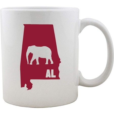 I Elephant Alabama University Style Coffee Mug (Style Coffee Mug)