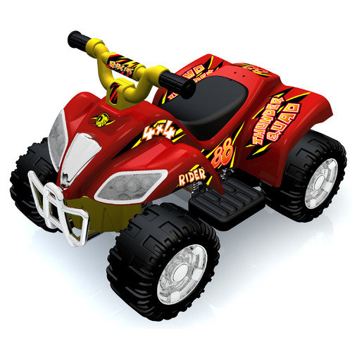 New Star Jumbo Quad Battery Powered Riding Toy - Red