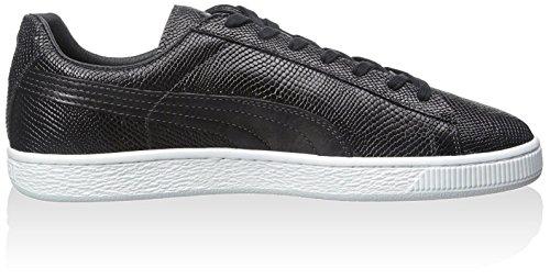 PUMA Men's States MII Sneaker, Black/White, 13 M US
