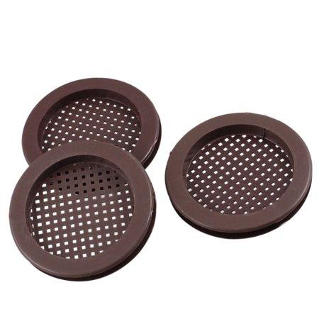 2 Hole Kitchen - Unique Bargains 3 Pcs Bathroom Kitchen 2  Dia Hole Plastic Basin Sink Strainer Chocolate Color