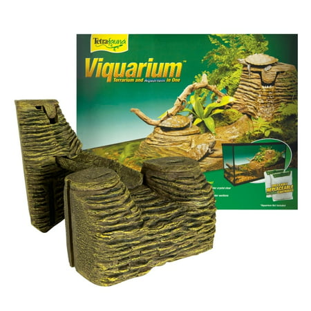 TetraFauna Viquarium Decoration, fits 20- to 55-Gallon (Best Filter For 55 Gallon Aquarium)