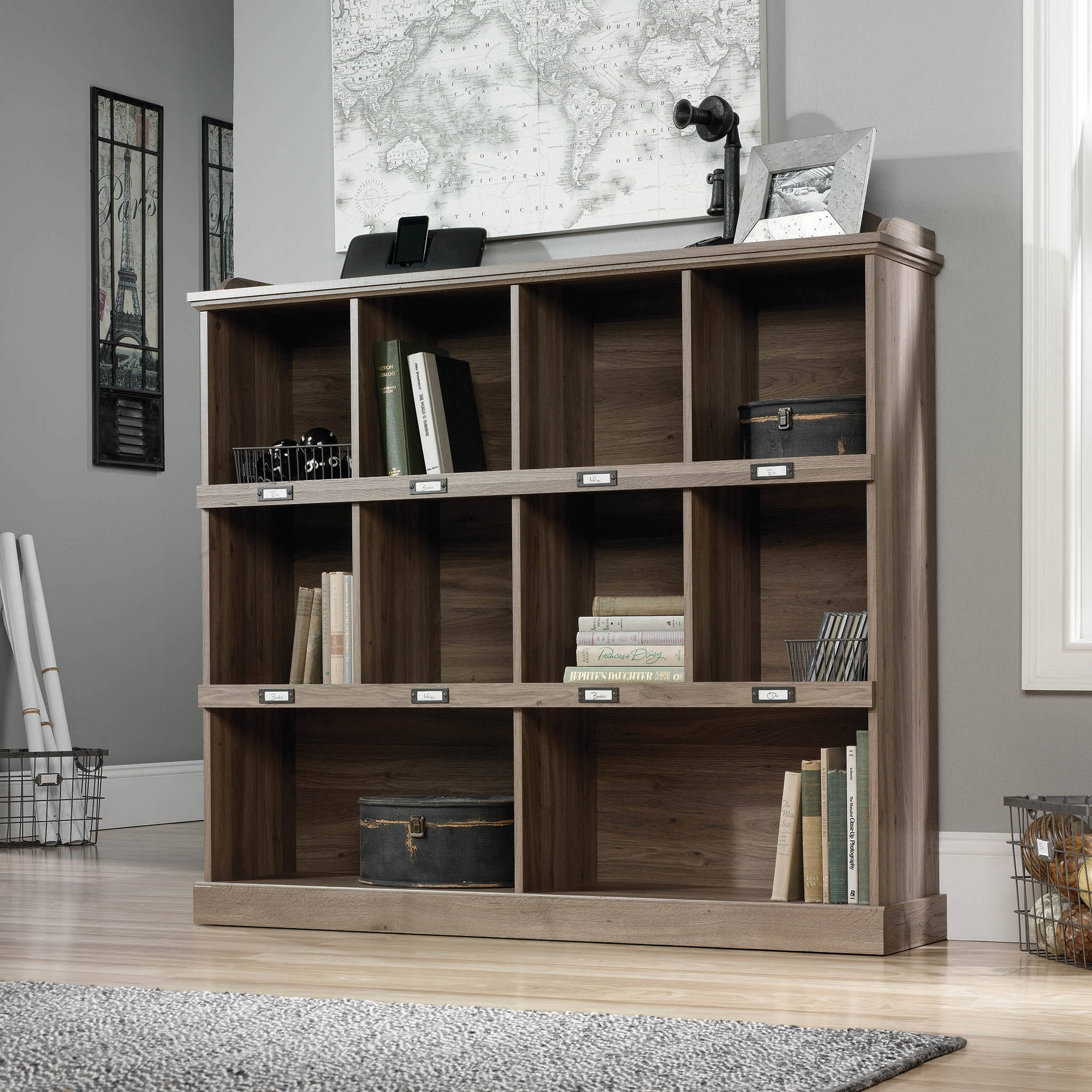 . Sauder Barrister Lane Bookcase  Multiple Colors   Walmart com