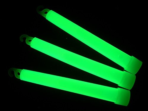 "500 2/"" Glow Light Sticks GREEN Fishing Glowsticks"
