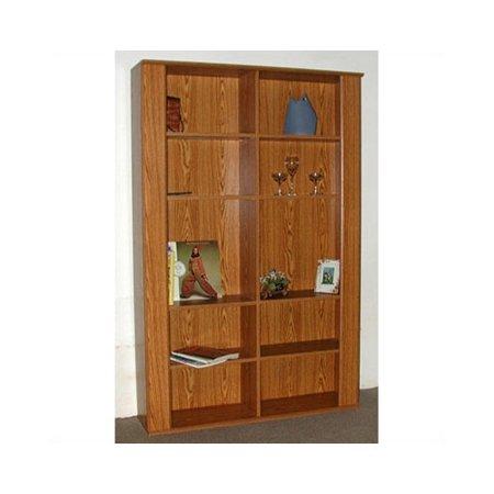 "Rush Furniture Americus 74"" Standard Bookcase"