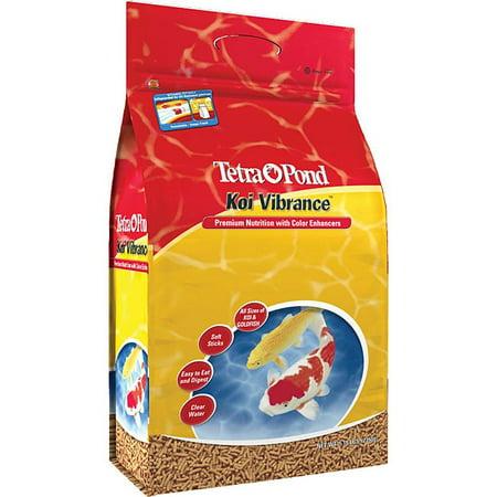 TetraPond Koi Vibrance 5.18 Pounds, Soft Sticks, Floating Pond Food