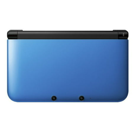 Refurbished Nintendo 3DS XL Blue Black Video Game Console with Stylus SD Card (3ds R4 Card With Preloaded Games Uk)