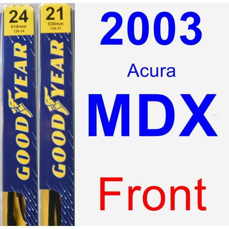 2003 Acura MDX Wiper Blade Set/Kit (Front) (2 Blades) - Premium