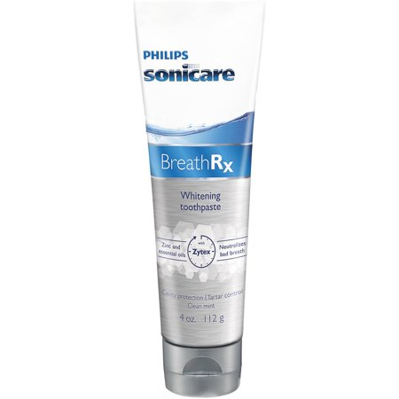 Philips Sonicare BreathRx Clean Mint Whitening Toothpaste, 4 oz DIS363/03