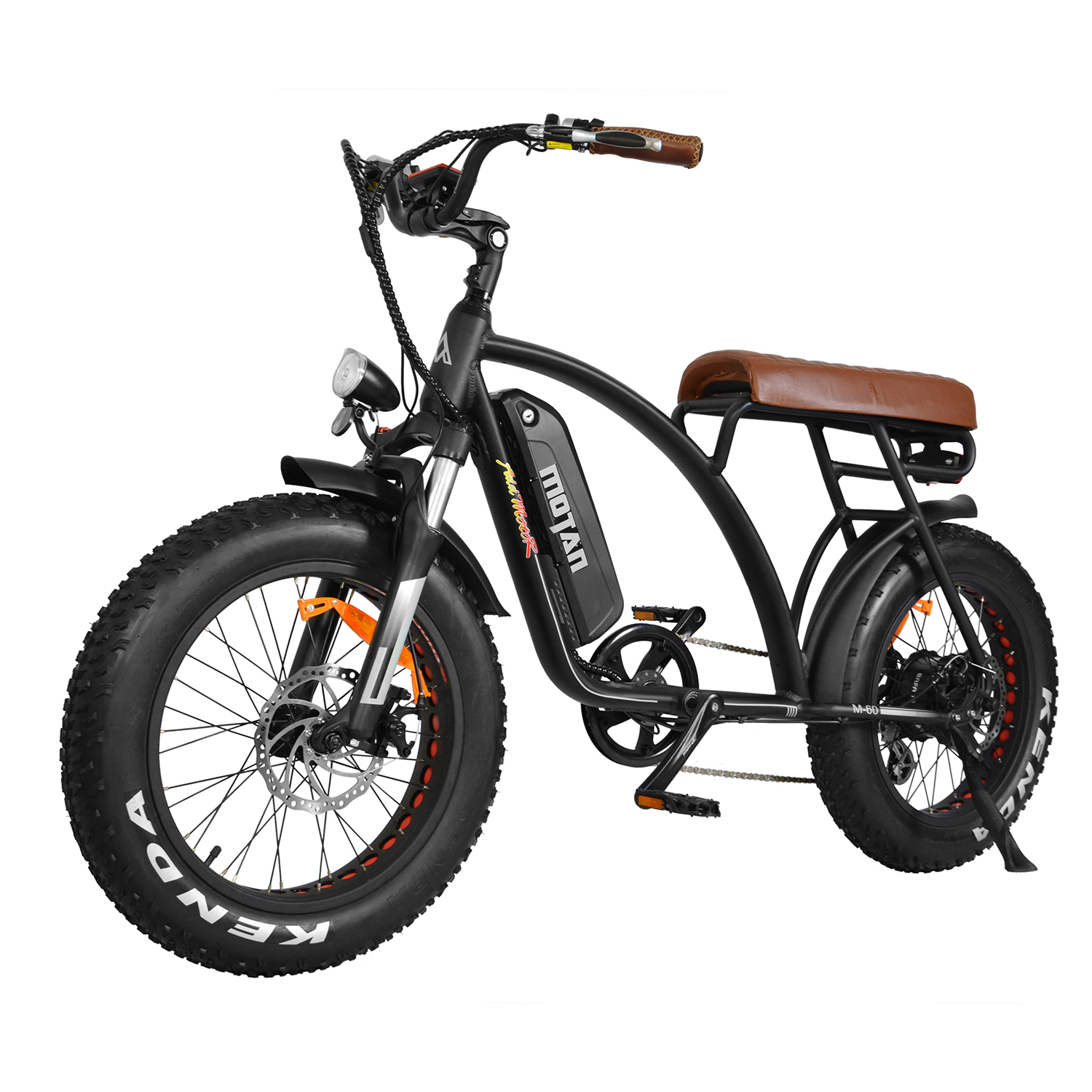 Addmotor MOTAN Electric Bike Bicycles 48V 500W Comfortable Bike 10.4AH 20'' Fat Tire E-Bike M-60 Deluxe Saddle Snow Bike