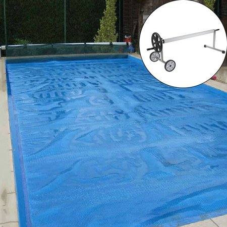 Stainless Steel Stable 21 Feet In Ground Swimming Pool Cover Reel ...