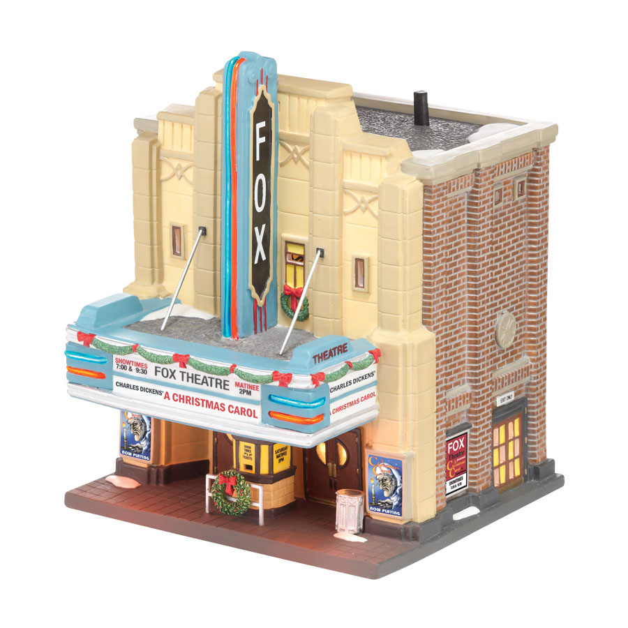 Department 56 Christmas In The City The Fox Theater A Chr...