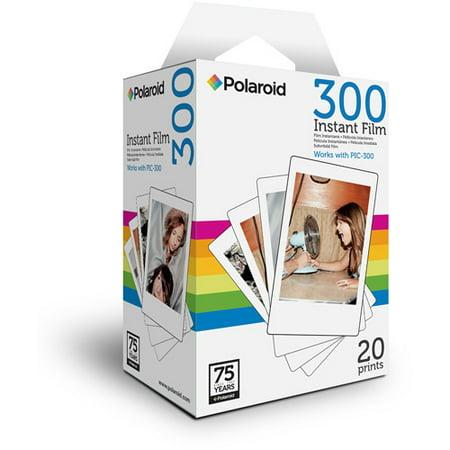 Polaroid 300 Instant Color Film, 20-Pack ()