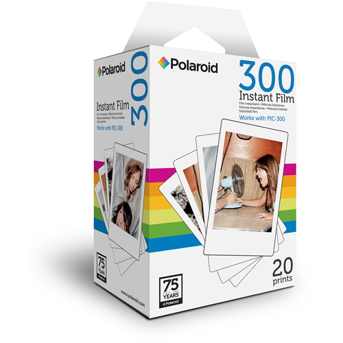 Polaroid 300 Instant Color Film, 20-Pack