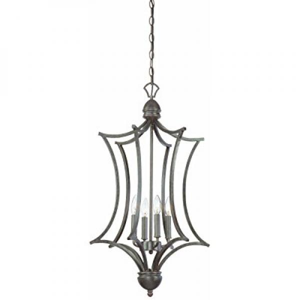 Thomas Lighting SL893622 Triton Collection 4 Light Pendant, Sable Bronze by
