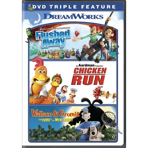 Flushed Away / Chicken Run / Wallace & Gromit: The Curse Of The Were-Rabbit (Widescreen)