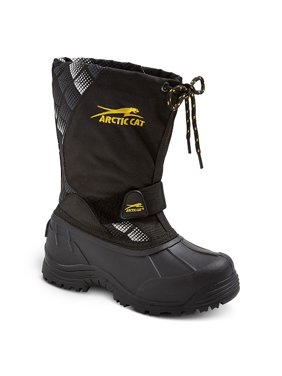 e4a596b875 Product Image Boys' Arctic Cat Snowshower Winter Boots - Black Print 5