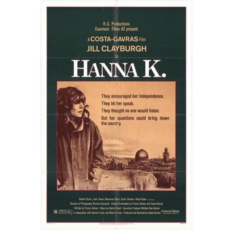 K 11 Poster Hanna K Movie Poster (11 x 17) - Walmart.com