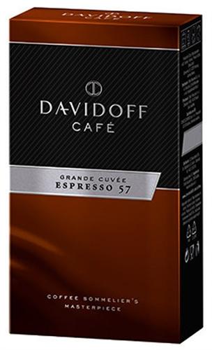 Davidoff Café Espresso 57 Ground Coffee 8.8oz 250g by