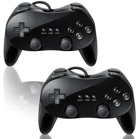 Zettaguard 2 PackClassic Pro Controller For Nintendo Wii/WiiU (M Audio Keystation Pro 88 Midi Controller)