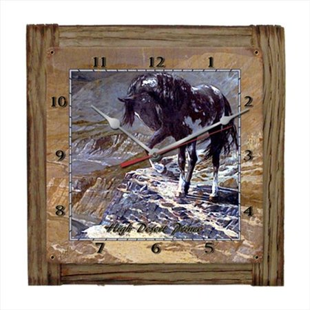 Past Time Signs Hadm010 High Desert Prince Home And Garden Clock
