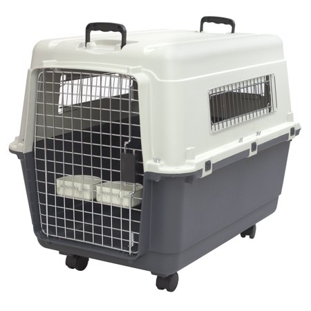 kennels direct premium plastic dog kennel and travel pet crate